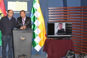 conferencia de prensa denuncian amenzas a evo morales foto ABI